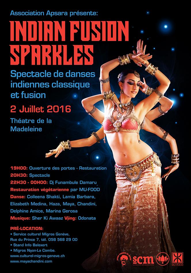 Indian Fusion Sparkles Show